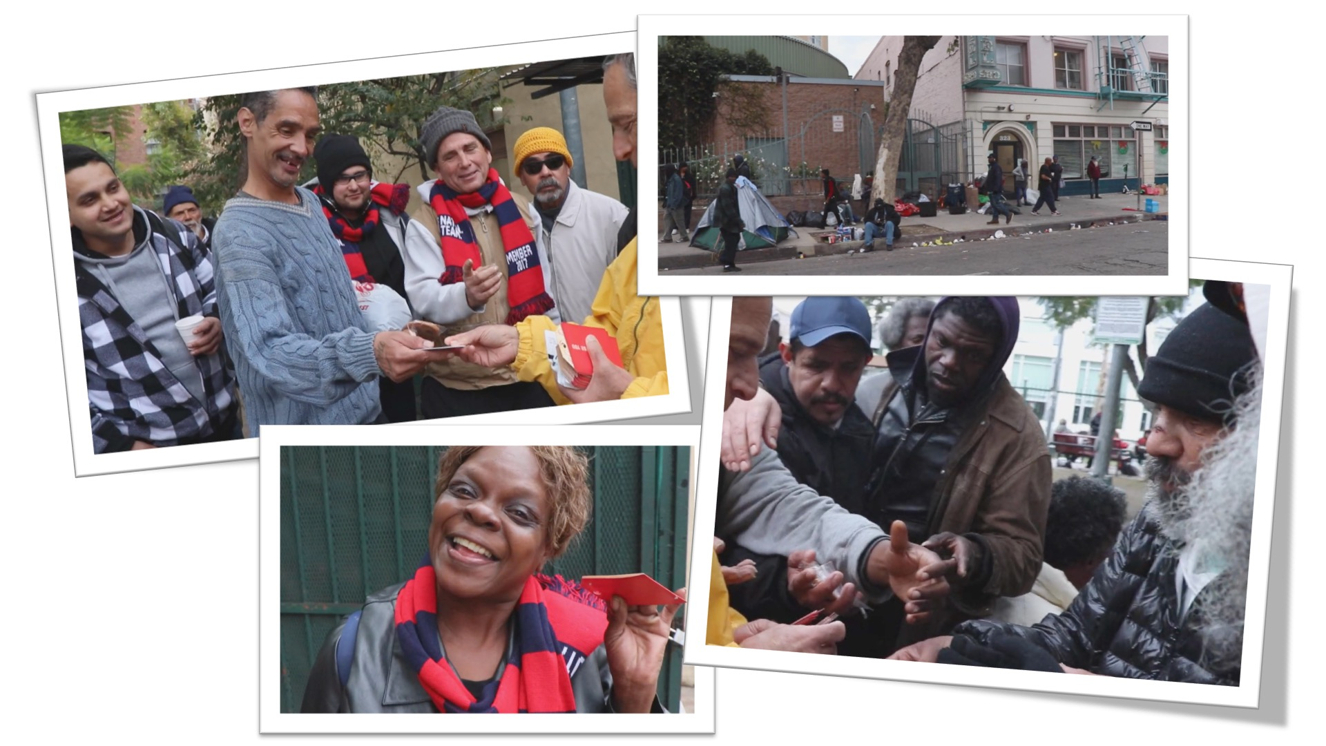 Distribution of Warm Meals Gift Cards in Los Angeles CA